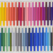 Rainbow Markers 01 — Stock Photo #25595055