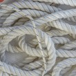 Sailing Ropes with Dash of Red — Stock Photo