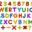 Child's ABC QWERTY — Stock fotografie #25599107