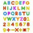 Child's ABC Letters — Stock Photo #25599765