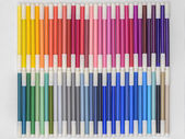 Rainbow Markers 01 — Stock Photo