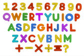 Child's ABC QWERTY — Stock Photo