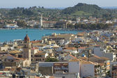 Panorama of Zante town — Stock Photo