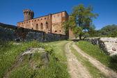 Castle in Swiecie — Stock Photo