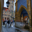 Stock Photo: Town Hall Tower in Prague, Czech Republic