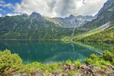 Morskie Oko lake — Stockfoto
