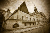 Old-New Synagogue in Prague — Stockfoto