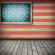 American symbol interior room — Stock Photo