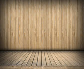 Wooden empty stage — Stock Photo