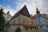Old-New Synagogue in Prague — Stock Photo