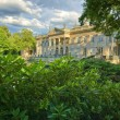 Palace in Lazienki Park, Warsaw — Stock Photo