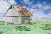 House made of money — Stock Photo