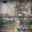 Stock Photo: Euro banknotes puzzle