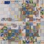 ������, ������: Euro banknotes puzzle