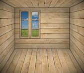 Interior of cottage room — Stock Photo