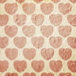 Heart pattern paper — Stock Photo