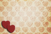 Heart pattern paper — Stock fotografie