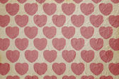 Heart pattern paper — Stock Photo