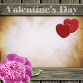 Valentines Day background — Stock Photo