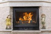 暖炉 — ストック写真