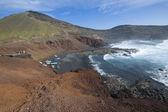火山の噴火口 — ストック写真