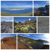 Collage from Lanzarote — Stock Photo