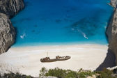 Shipwreck bay — Stock Photo
