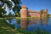 Castle in Lidzbark Warminski — Stock Photo