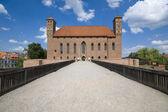 Schloss in lidzbark warminski — Stockfoto