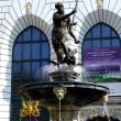 Fountain of Neptune in Gdansk — Foto de stock #34762969