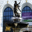 Fountain of Neptune in Gdansk — Stockfoto #34762969