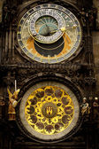 Prague clock — Foto de Stock
