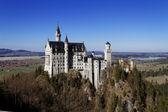 Schloss neuschwanstein in deutschland — Stockfoto