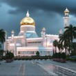 Sultan Omar Ali Saifuddin Mosque in Brunei — Stock Photo