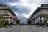 Shopping complex In Bandar Seri Begavan — Stock Photo
