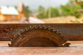 Circular saw blade  — Stock Photo