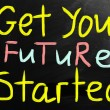 Get your future started — Stock Photo