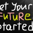 Get your future started concept — Stock Photo #27567109