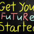 Get your future started — Stock Photo #28200931