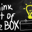 Thinking outside the box — Stock Photo #28201181