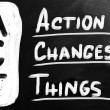 Action Changes Things — Stock Photo #28536207