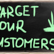 Target your customers — Stock Photo #28667689