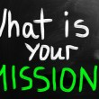 What is your mission? — Stockfoto #28777847