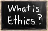 What is Ethics? — Stock Photo