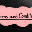 Terms & Conditions — Stock Photo #29058731