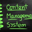 Content Management System — Stock Photo #30598151