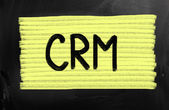 Customer relationship management (CRM) concept — Stock Photo