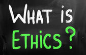 What is Ethics? — Stock Photo