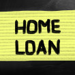 Stock Photo: Home loan
