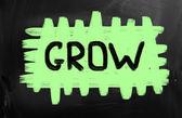 Crescere il concetto — Foto Stock